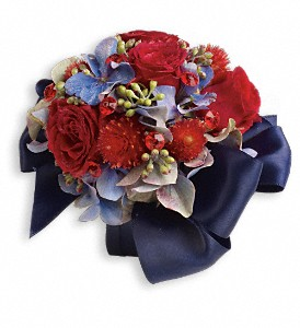 Camera Ready Corsage in Grand Rapids MI, Rose Bowl Floral & Gifts