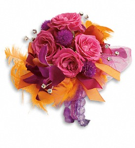 Dance 'til Dawn Corsage in Naples FL, China Rose Florist