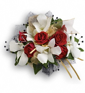 Star Studded Corsage in Morgantown WV, Galloway's Florist, Gift, & Furnishings, LLC