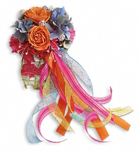 You Glow Corsage in Sevierville TN, From The Heart Flowers & Gifts