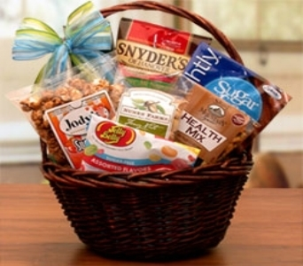 Flowers usa mini sugar free basket from stanleys florist same stanleys usasend nationwide flower delivery negle Choice Image