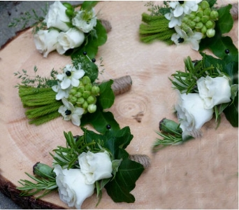 Boutonniere and Corsage Set in Orinda CA, Misaghi Design Orinda Florist