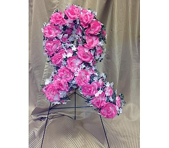 Silk Ribbon Spray in Timmins ON, Timmins Flower Shop Inc.