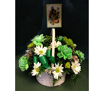 St. Patrick's Day Centerpiece in Baltimore MD, Gordon Florist