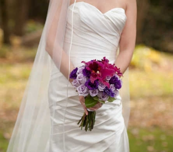 Wedding Bouquet in King Of Prussia PA, Petals Florist