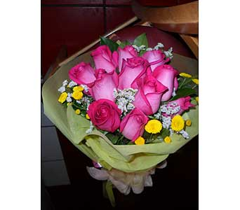 Pink Dozen in Rowland Heights CA, Charming Flowers