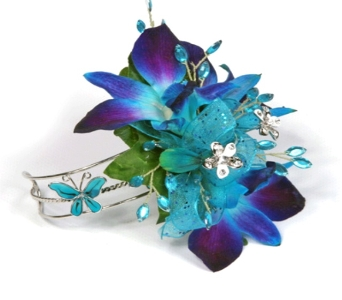 Blue Orchid Armband in Bethany OK, Ann's Secret Garden