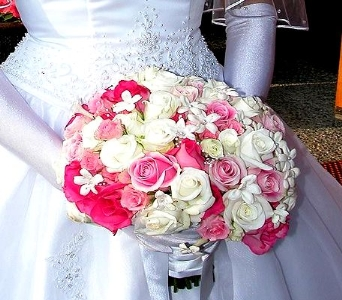 Bejewelled Pink in Asheville NC, Kaylynne's Briar Patch Florist, LLC