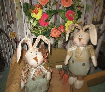 Country Bunnies in Oakland City IN, Sue's Flowers & Gifts
