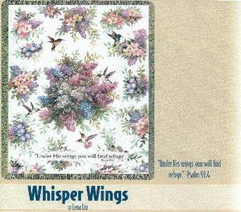 Whisper Wings Throw in Oakland City IN, Sue's Flowers & Gifts