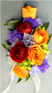 Vibrance Corsage in Kennett Square PA, Barber's Florist Of Kennett Square