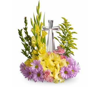 Crystal Cross Bouquet in Campbell CA, Citti's Florists