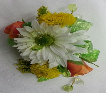 Citrus Corsage in Greenfield IN, Penny's Florist Shop, Inc.