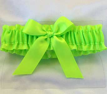 Neon green Garter in Hales Corners WI, Barb's Green House Florist