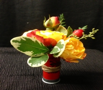 A Shotgun Shell Boutonniere in Bethany OK, Ann's Secret Garden