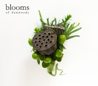 Lotus Pod Boutonniere in Dunwoody GA, Blooms of Dunwoody