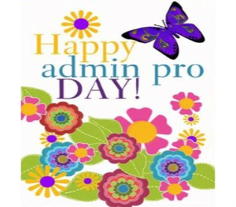 Happy Admin Day! in Columbus OH, OSUFLOWERS .COM