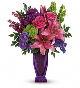 You're A Gem Bouquet by Teleflora in Hendersonville NC, Forget-Me-Not Florist