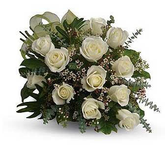 White Roses in Manotick ON, Manotick Florists