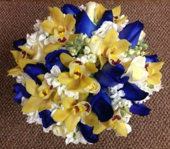 Wedding Bouquet 41 in Frankfort IL, The Flower Cottage
