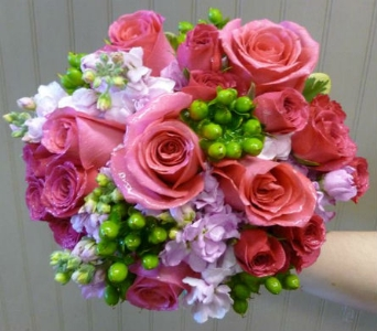 Prom Bouquet 18 in Frankfort IL, The Flower Cottage