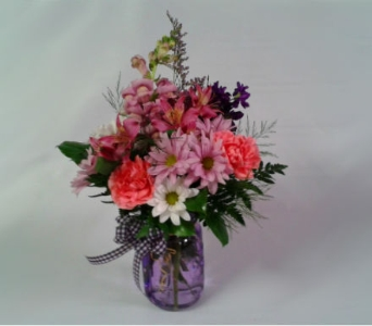 Preserve Your Love Bouquet-Lavander in Mount Horeb WI, Olson's Flowers