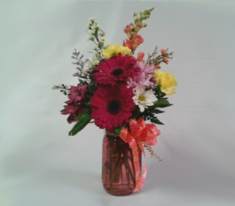 Preserve Your Love Bouquet-Pink in Mount Horeb WI, Olson's Flowers