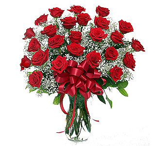 Classic Two Dozen Roses in Jersey City NJ, Hudson Florist