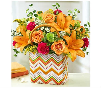 Handbag of Blooms™ dans Watertown CT, Agnew Florist