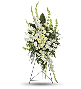 Magnificent Life Spray in Huntington IN, Town & Country Flowers & Gifts