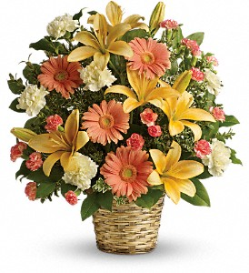 Soft Sentiments Bouquet in Oklahoma City OK, Capitol Hill Florist and Gifts