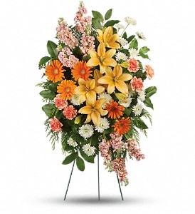 Treasured Lilies Spray in Boynton Beach FL, Boynton Villager Florist