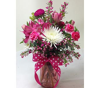 Pink Jardin in Rochester MN, Sargents Floral & Gift