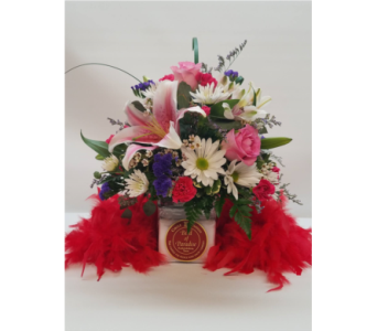 Flame of Love 28oz in Bossier City LA, Lisa's Flowers & Gifts