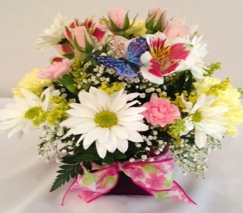 Butterfly Garden Bouquet in Gahanna OH, Rees Flowers & Gifts, Inc.