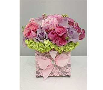 Pretty in Pink in Santa Clarita CA, Celebrate Flowers and Invitations