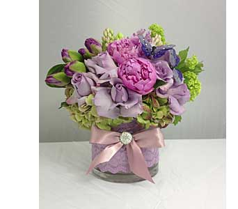 Pretty in Lavender in Santa Clarita CA, Celebrate Flowers and Invitations