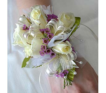 Classic Elegance Corsage in Dearborn Heights MI, English Gardens Florist
