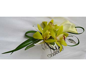 Orchid Stunner Corsage in Dearborn Heights MI, English Gardens Florist