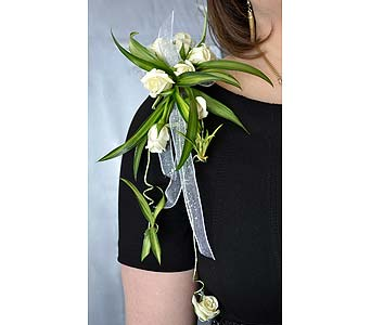 Elegant Standout Corsage in Dearborn Heights MI, English Gardens Florist