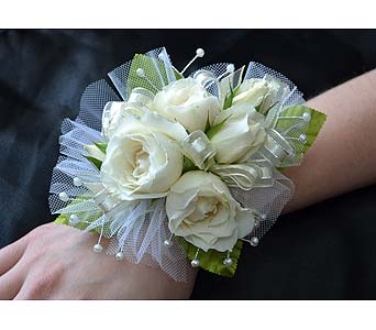 Royal Couple Corsage in Dearborn Heights MI, English Gardens Florist