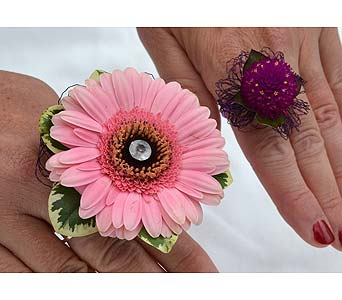 Edgy and Different Ring Corsage in Dearborn Heights MI, English Gardens Florist