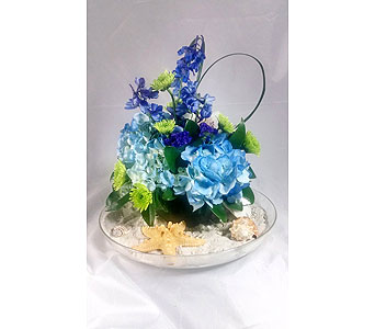 Beach in a DIsh in Naples FL, Naples Flowers, Inc.