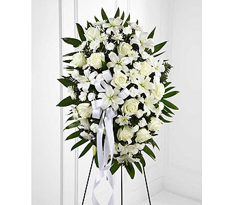 FTD Exquisite Tribute Standing Spray in Ajax ON, Reed's Florist Ltd