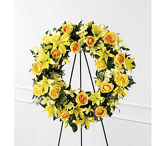 FTD Ring of Friendship Wreath in Ajax ON, Reed's Florist Ltd