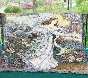 Angel of Love Throw in Martinsville IN, Flowers By Dewey