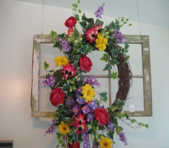 Grapevine Wreath in Oakland City IN, Sue's Flowers & Gifts