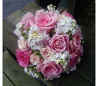 Pink & White Bouquet in Las Vegas NV, Flowers By Michelle