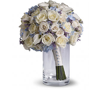 Something Blue Bouquet in Las Vegas NV, Flowers By Michelle