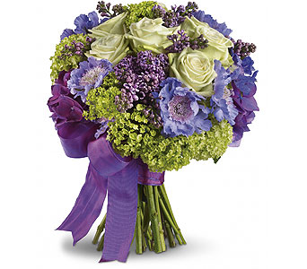 Purple Garden Bouquet in Las Vegas NV, Flowers By Michelle